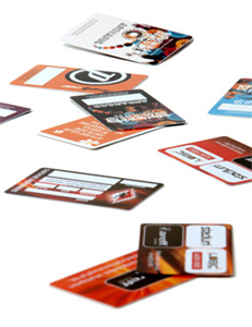 personlized cards areff systems ab