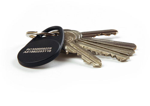 Keyfob and keys