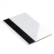 RFID plastic card magnetic strip