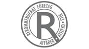 Rekomenderat företag logo