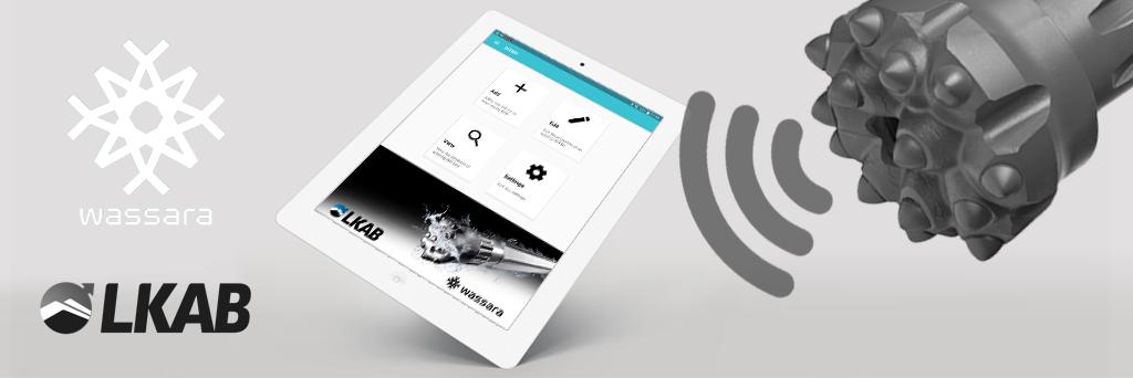 LKAB Wassara app och rfid