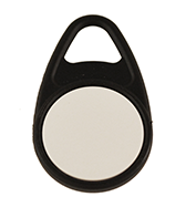 Keyfob Teardrop black