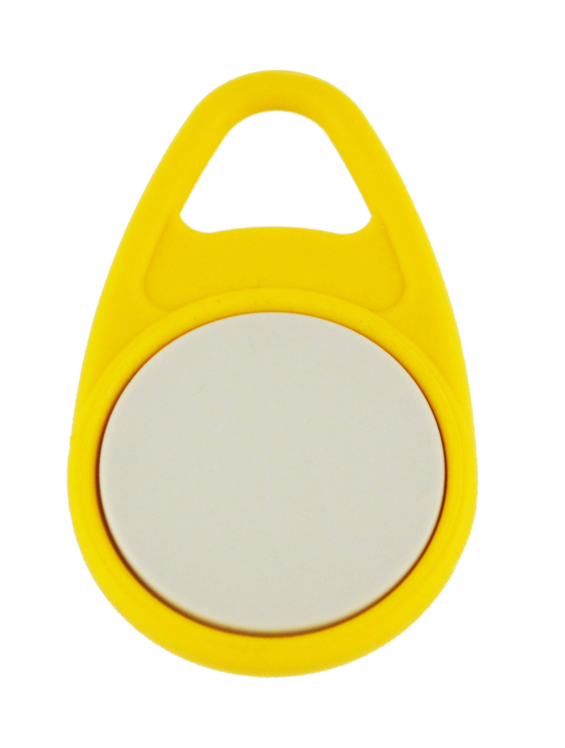 Keyfob Teardrop yellow