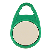 Keyfob Teardrop green