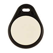 Keyfob Tearshape black