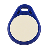 Keyfob Tearshape blue
