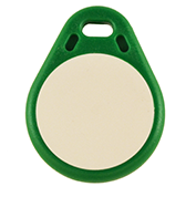 Keyfob Tearshape green