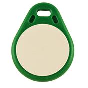 Nyckelbricka Tearshape grön