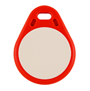Keyfob Tearshape red