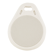 Keyfob Tearshape white