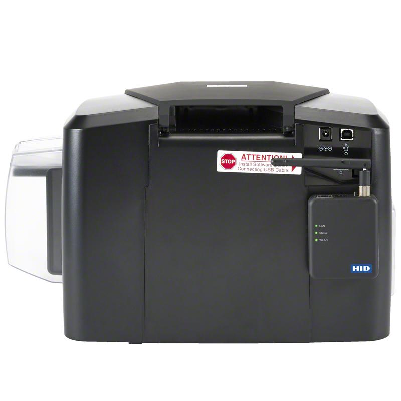 Fargo Plastkortprinter 1000me baksida
