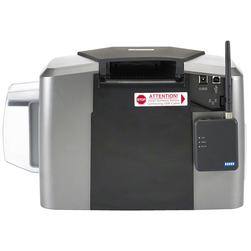 Fargo Plastkortprinter DTC 1250e baksida