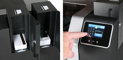 Fargo Plastkortprinter närbild HDP 8500