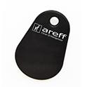 Keyfob Krypto black with areff logo