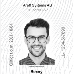ID06 2.0 kort Areff Systems AB